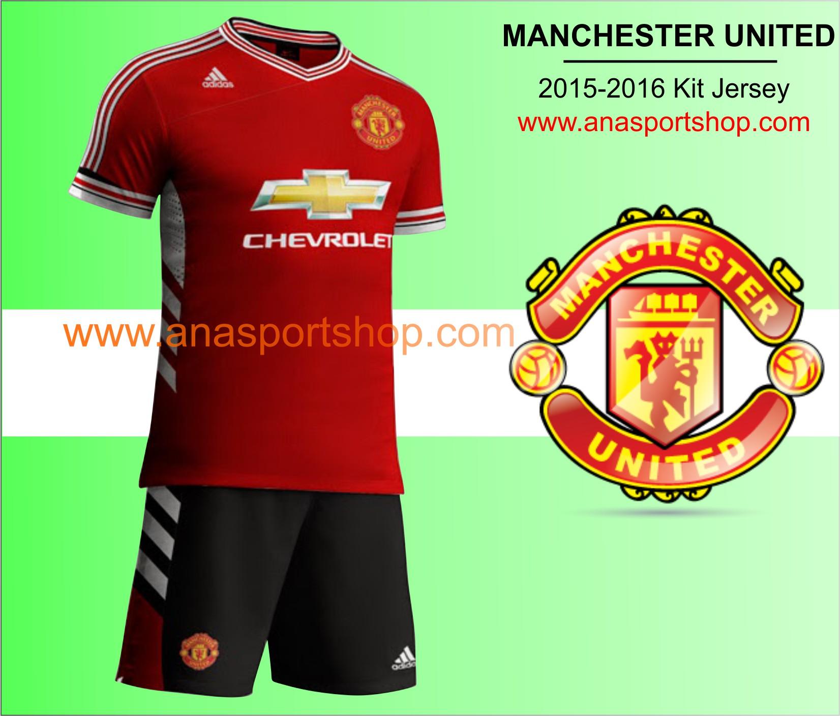 Ao bong da Manchester United 2015-2016 san nha do