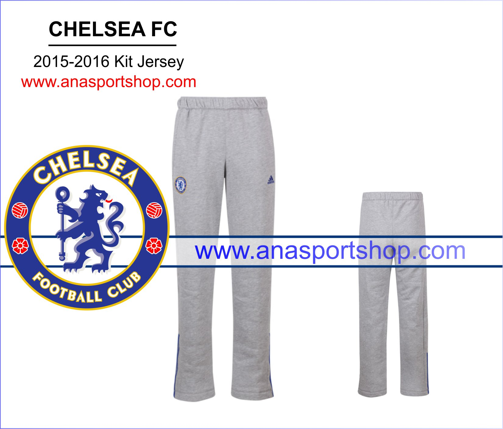 Quần nỉ Chelsea 2015-2016