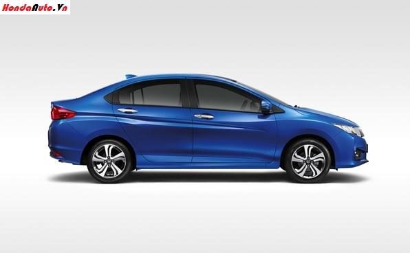 Thế hệ mới của Honda City sở hữu kích thước tổng thể dài x rộng x cao tương  ứng 4.455 x 1.694 x 1.487 (mm), chiều dài cơ sở