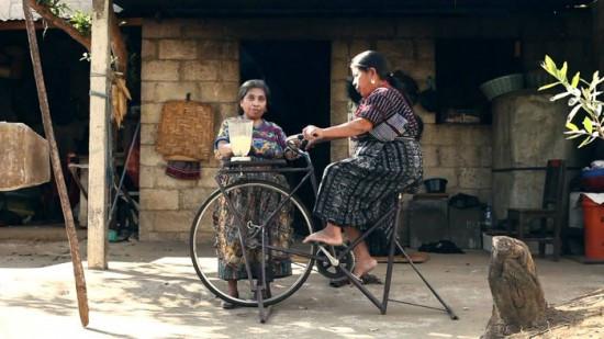 may say sinh tố từ xe đạp