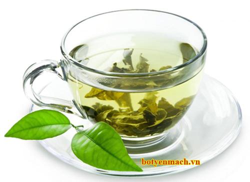 Uống trà xanh mỗi ngày chống lão hóa da