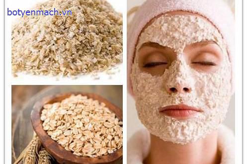 Yến mạch trong chăm sóc da mặt