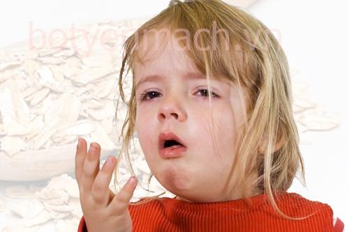 Trị ho cho trẻ bằng bột yến mạch
