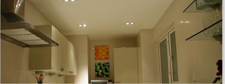 Đèn led âm trần bát đôi 2x7W COB - Toplight