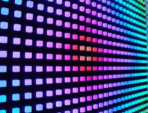 màu sắc đa dạng của đèn led