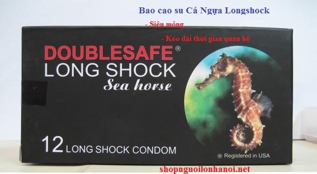 Bao cao su siêu mỏng, kéo dài thời gian quan hệ Cá Ngựa LongShock