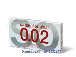 Bao cao su siêu mỏng, mỏng nhất thế giới Sagami Original 0.02