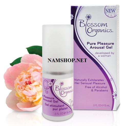 Gel bôi trơn tăng khoái cảm cho nữ Blossom Oganic