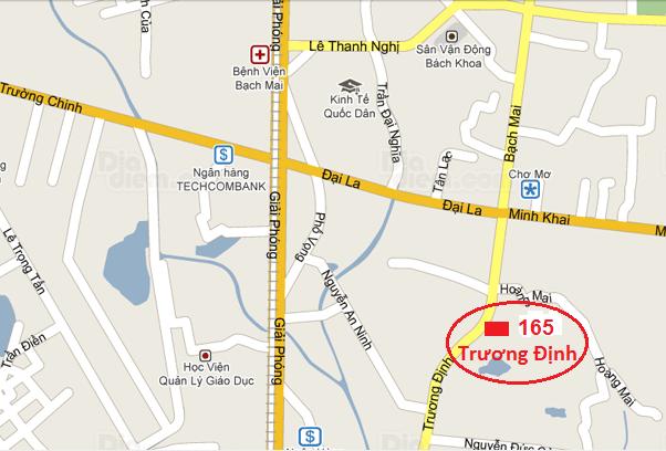 Địa chỉ NAMSHOP tại Trương Định - Hai Bà Trưng - Hà Nội