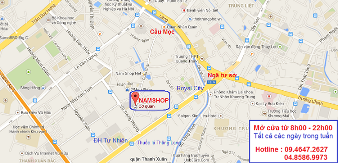 Shop bao cao su tại 279B Quan Nhân - Thanh Xuân - Hà Nội
