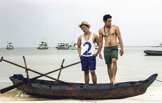 Thời trang đi biển đơn giản cho các chàng ngày cuối tuần