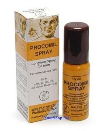 Thuốc xịt trị xuất tinh sớm Procomil Spray tốt nhất của Đức