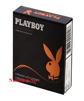 Bao cao su chống xuất tinh sớm cho nam PlayBoy Ultra Thin