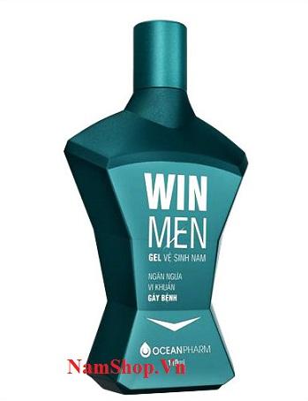 Hình ảnh chai gel vệ sinh nam Winmen xanh