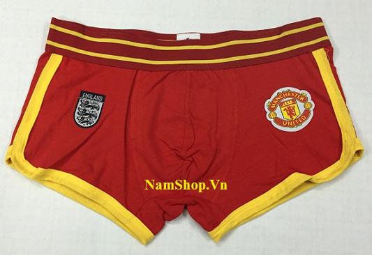 Hình ảnh mẫu quần lót nam thể thao câu lạc bộ Manchester United