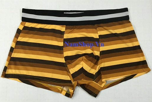 Hình ảnh mẫu quần lót nam kiểu độc lạ Aberich QLH02 kẻ ngang