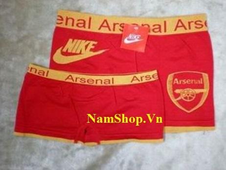 Hình ảnh mẫu quần lót nam thể thao câu lạc bộ Arsenal