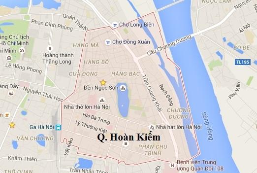 Cửa hàng bán quần short nam đi biển tại quận Hoàn Kiếm