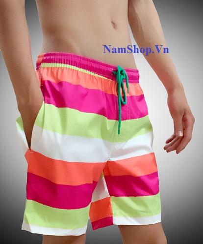 Mua quần short nam đi biển họa tiết tại huyện Quốc Oai
