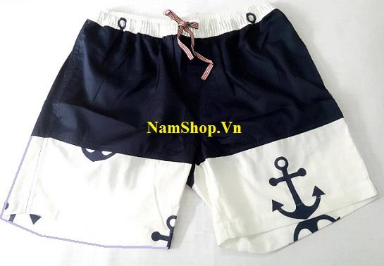 Quần short nam đi biển hoa văn độc lạ tại NamShop