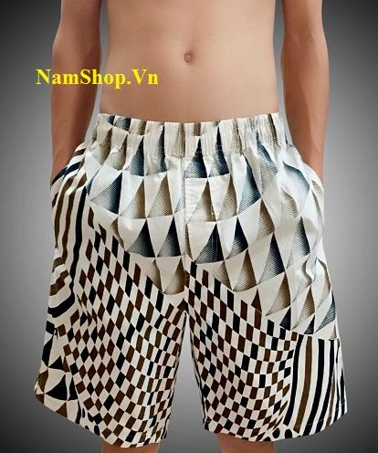 Mua quần short nam đi biển họa tiết ở đâu tại quận Phúc Thọ