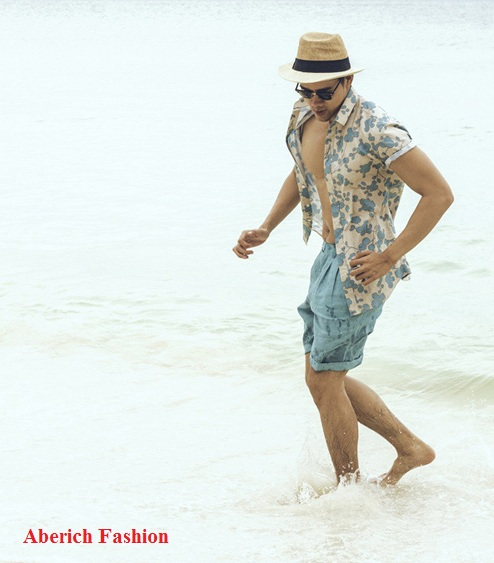 Cách phối đồ cho nam với áo sơ mi họa tiết phong cách Hawaii