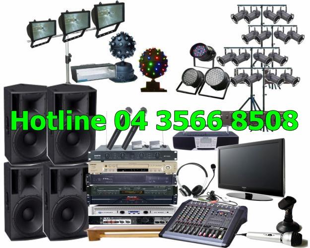 Cho thuê âm thanh công suất lớn giá rẻ