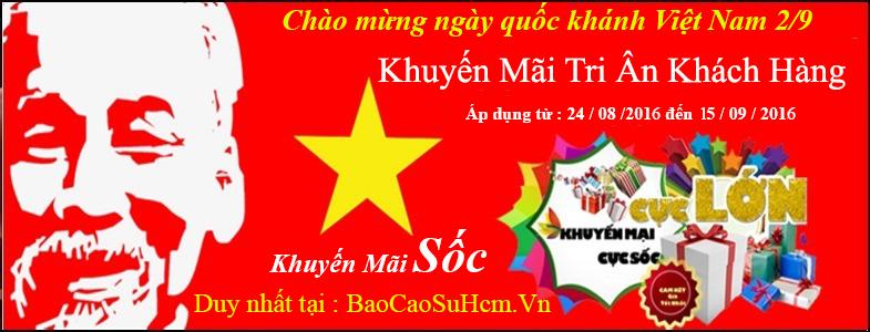 Khuyến Mãi Nhân Dịp Quốc Khánh Việt Nam 2/9