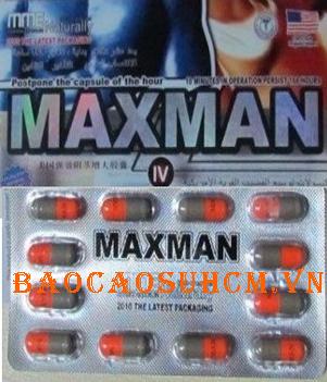 Maxman IV new thuốc tăng cường sinh lý