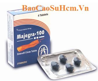Majegra 100mg thuốc chữa trị rối loạn cương dương