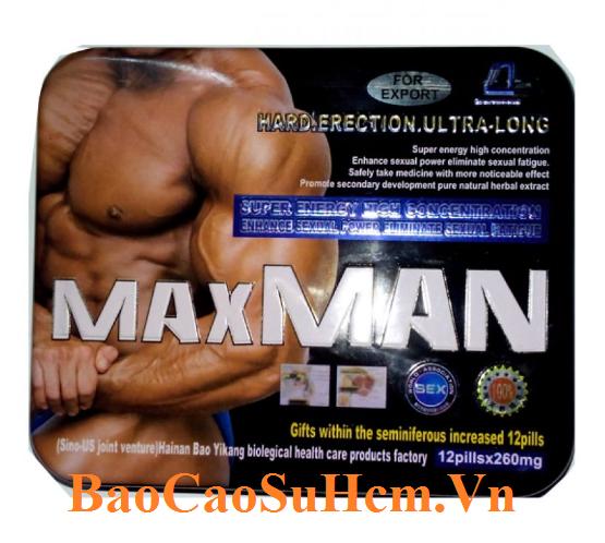 MaxMan 260mg thuốc cường dương