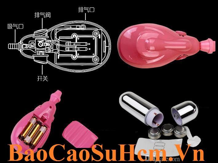 Hình ảnh pin máy massage âm đạo Clitoral sử dụng