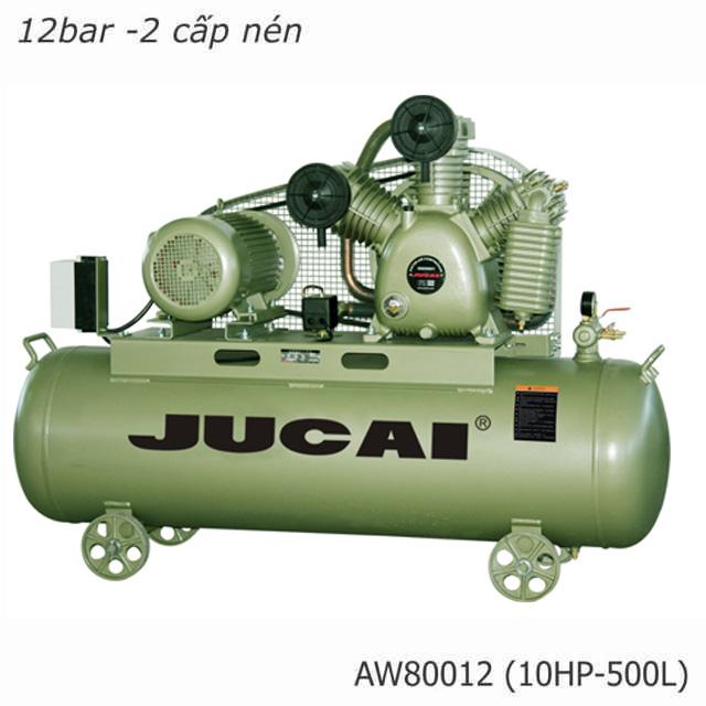 Máy nén khí 2 cấp nén Jucai 80012