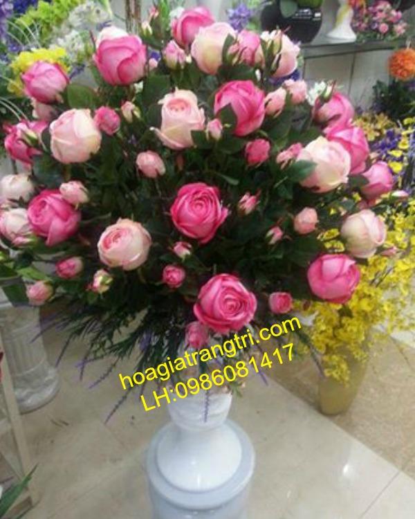 hoa giả, hoa hồng, hoa nghệ thuật