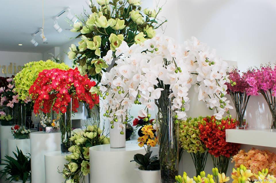 Ý tưởng kinh doanh hoa giả, hoa lụa