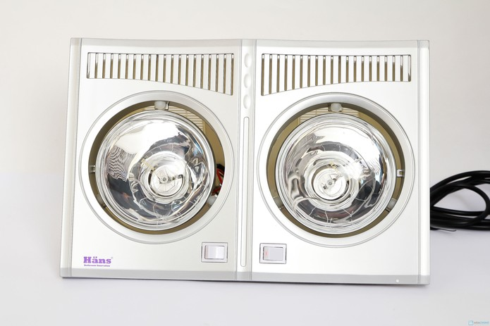 Đèn sưởi nhà tắm hans chính hãng chlb đức - 3