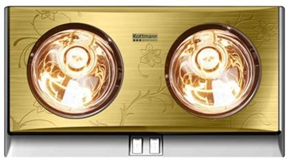 Đèn sưởi nhà tắm Kottmann có thiết kế sang trọng