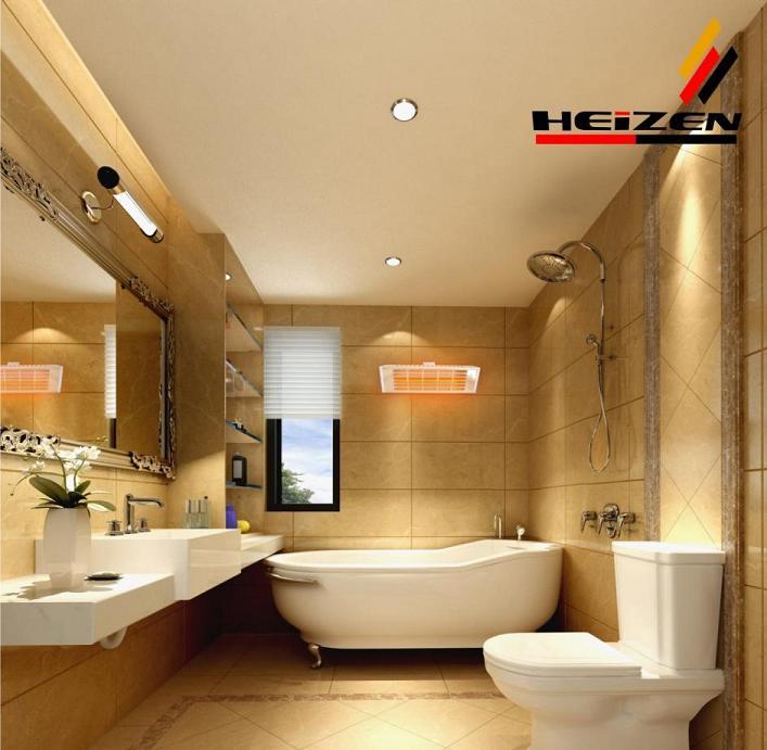 Cách lựa chọn đèn sưởi nhà tắm cho mùa đông