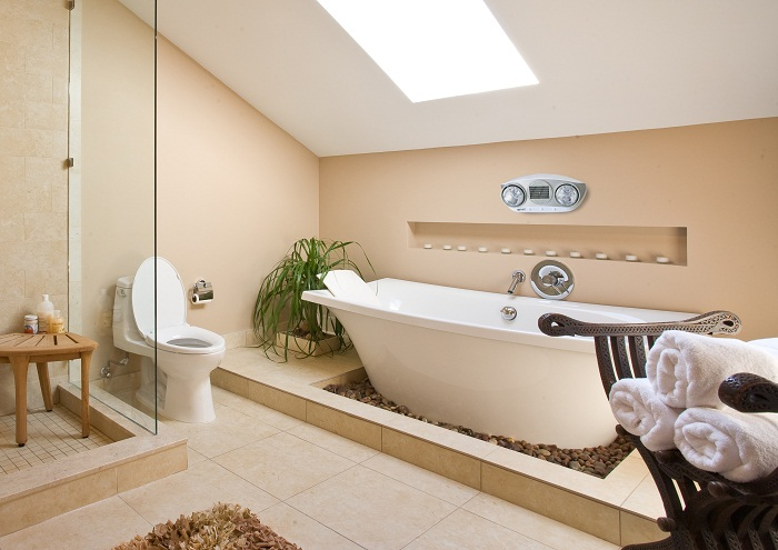 Đèn sưởi nhà tắm dành cho người già và trẻ nhỏ