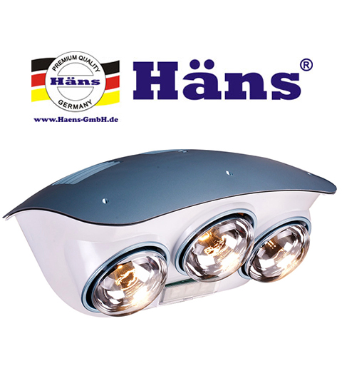 Đèn sưởi nhà tắm Hans cho các gia đình