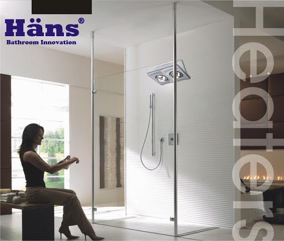 Tư vấn cách lắp đặt và sử dụng đèn sưởi nhà tắm