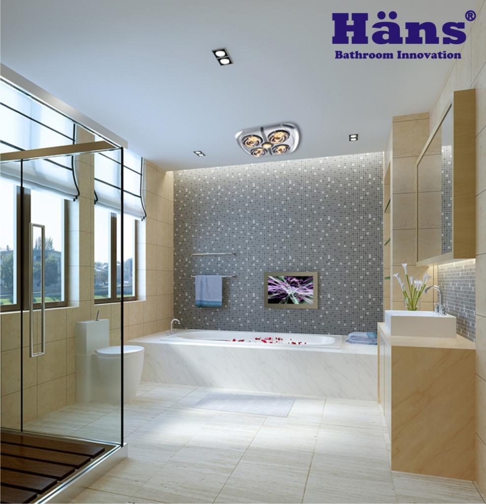 Đại lý nào bán đèn sưởi nhà tắm Hans chính hãng ?