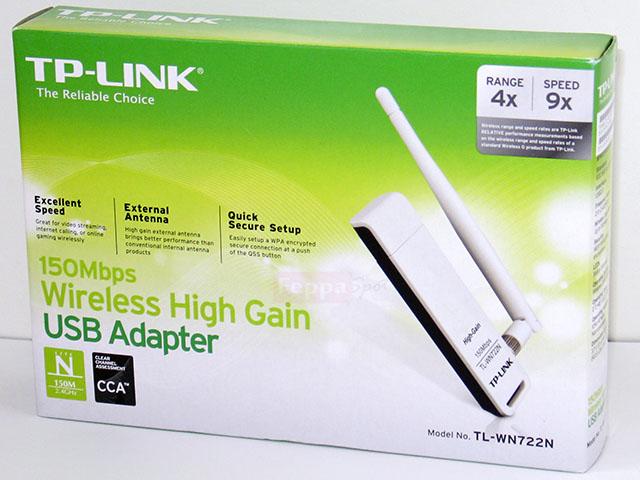 Bộ thu sóng wifi TP-Link TL-WN722N