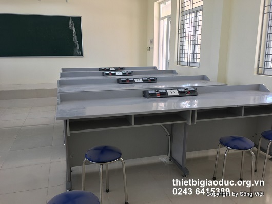 bàn thí nghiệm vật lý 6