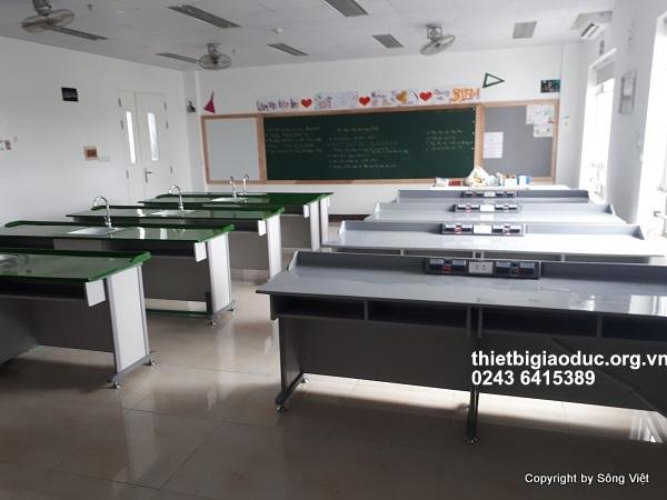 bàn thí nghiệm lý phòng học công nghệ 3