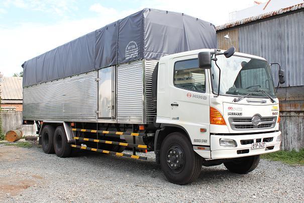 Các dòng xe ô tô tải phổ biến ở Việt Nam hiện nay 2
