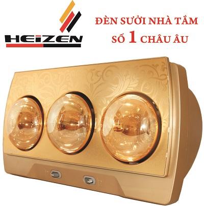 Đèn sưởi nhà tắm Heizen 3 bóng HE-3B