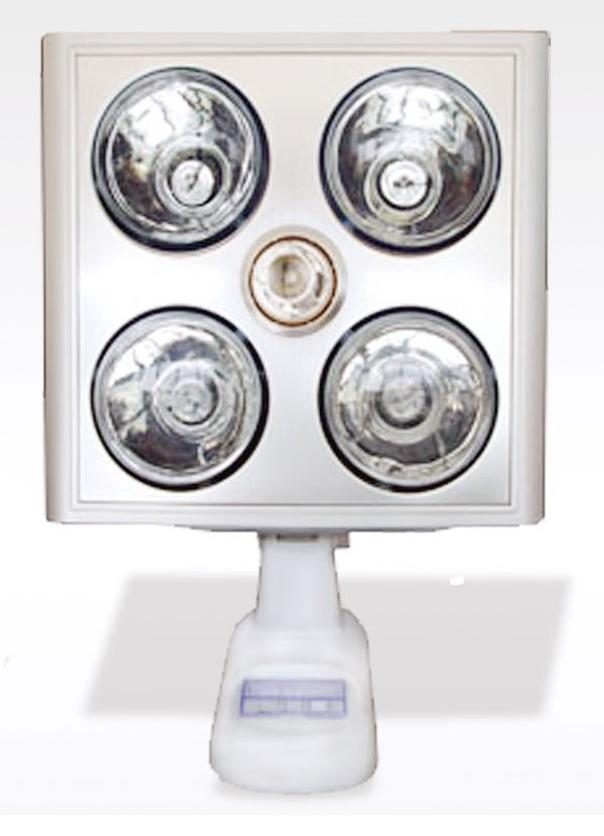 Đèn sưởi nhà tắm Kottmann 4 bóng K4B-S