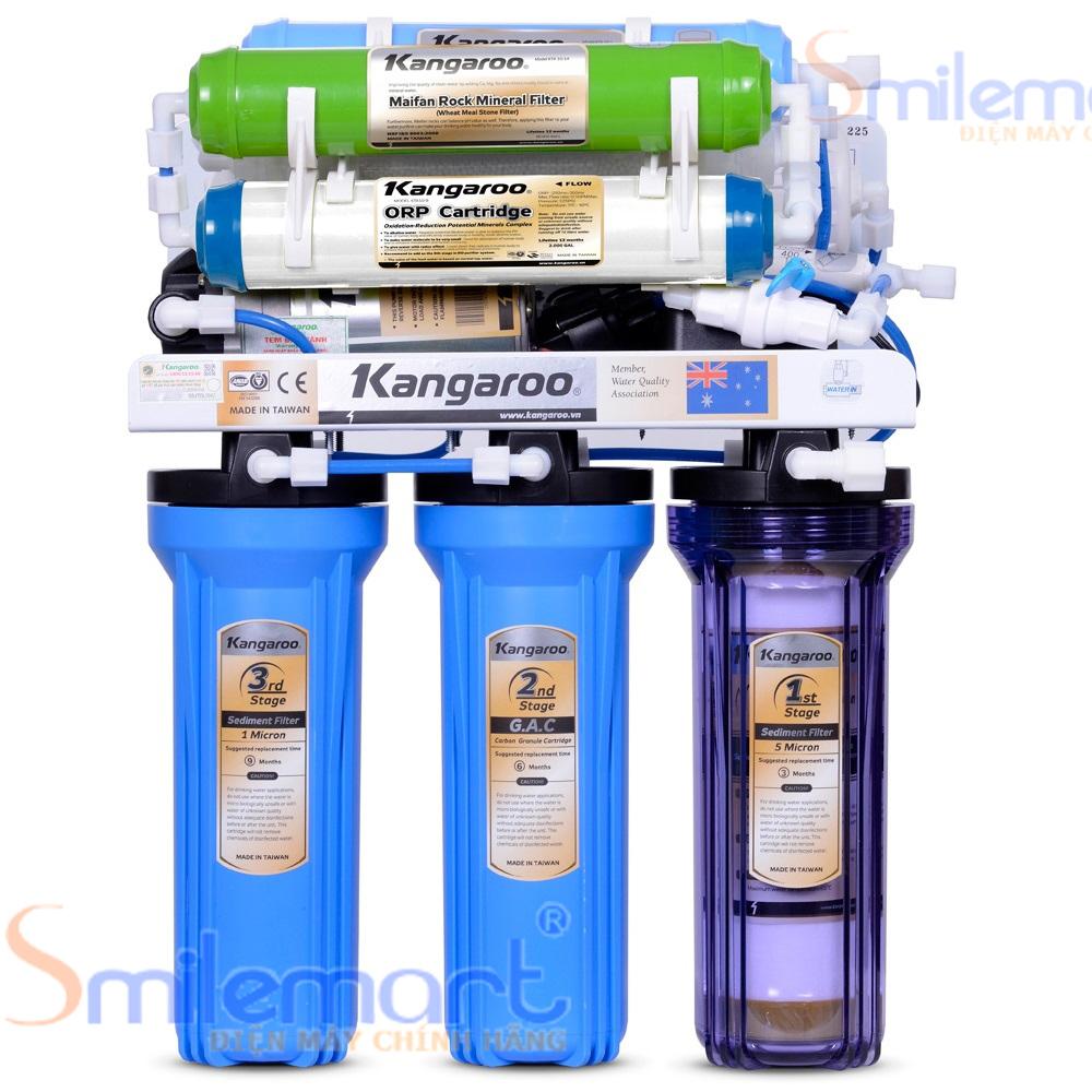 Description: Máy lọc nước ro kangaroo 9 lõi kg108UV