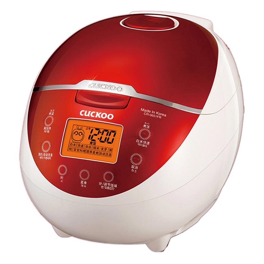 Nồi cơm áp suất điện tử CUCKOO CR-0651FR